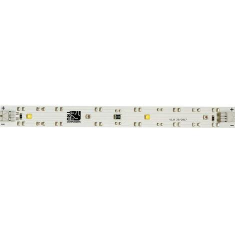 Eclairage LED pour plantes avec cage à ressort TRU COMPONENTS TRU-PL-WR 10.6 V 180 mm blanc-rouge 1 pc(s)