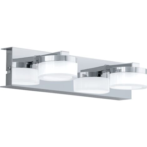 Eclairage salle de bain design Romendo LED L30 cm IP44 - Chrome - Chrome