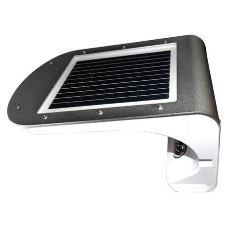 Eclairage solaire LED IP65 3W alu avec détecteur de mouvement 700 ...