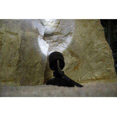 Eclairage submersible 0.5 W Pontec 43187 LED intégrée noir