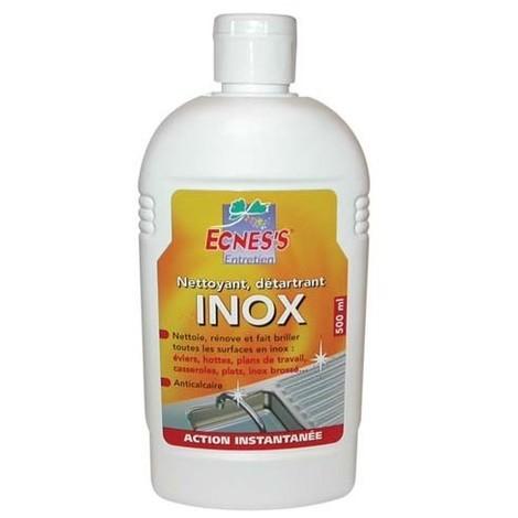 ECNESS - Nettoyant détartrant pour l'inox - 500 mL