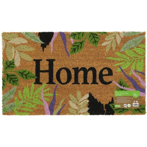 Eco-Friendly Garden Latex Backed Coir Entrance Door Mat, Home Design