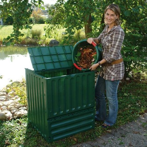 Eco King 600 Litre Green Composter