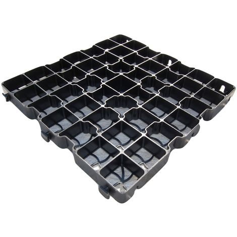 EcoBase Fastfit Shed Base Kit for 12x12ft garden buildings - 64 grids
