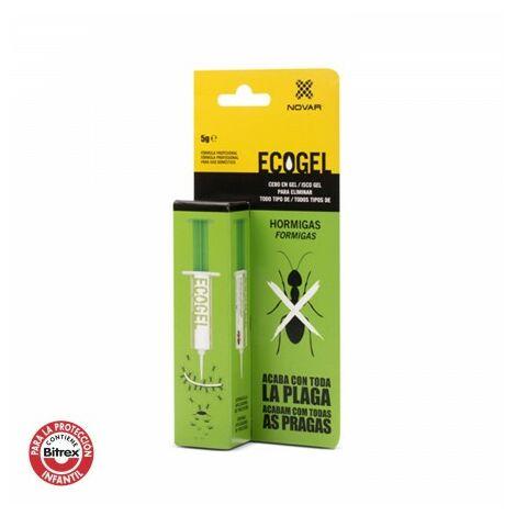 "main image of ""Ecogel elimina hormigas jeringa 5 gramos caja carton"""