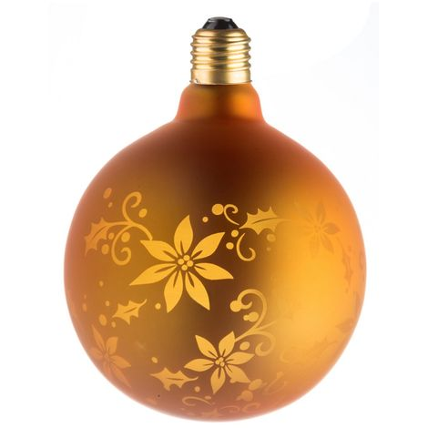 Ecolicht 30125130003 bulbo decorativo E27 LED 0.5W G125 360 - Golden Flower