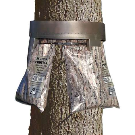 Écopiège® Ø 100 cm contre les chenilles processionnaires du pin