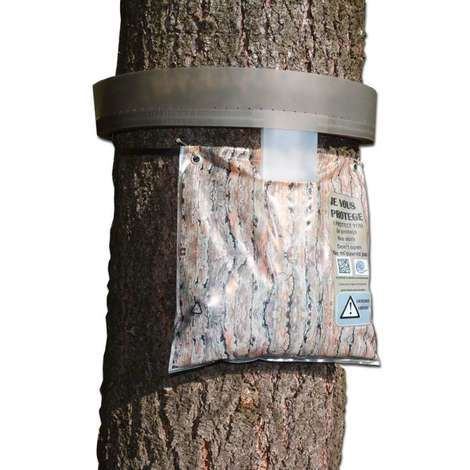 Écopiège® Ø 55 cm contre les chenilles processionnaires du pin