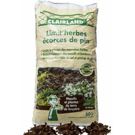 Écorces de pin 20/40 en sac de 50 litres