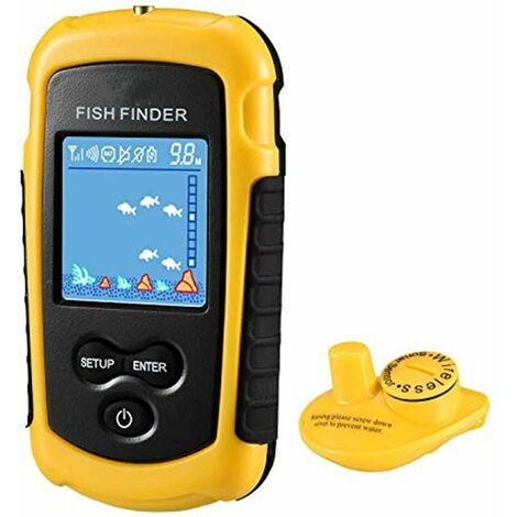Ecosounder Fishing Color Fish Finder Wireless Portable Fish Finder