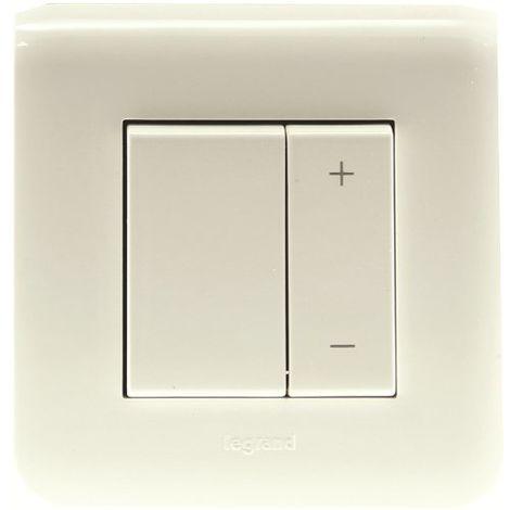 Ecovariateur avec plaque Mosaic- toutes lampes - Blanc