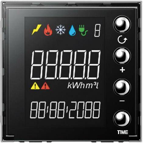 Ecran 1,6'' Livinglight pour affichage consommation MyHOME BUS BTICINO LN4710