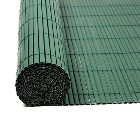 Écran de confidentialité de clôture PVC verde de balcon de clôture 0,8x8,0m