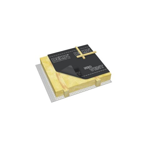 Ecran de sous-toiture DELTA®-NEO VENT HPV R2 Doerken 50 ml x 1,5 ml 02206622 Doerken