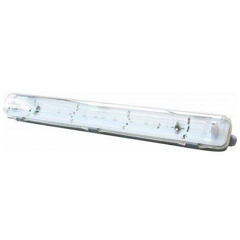 Ecran étanche IP65 T8 1Tube LED 1200mm ABS