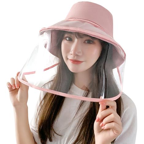 ecran Facial De Protection Amovible, Rose