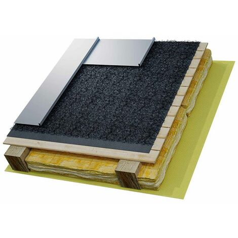 Ecran sous-toiture HPV METALLIC 450 gr/m². 1.5 m x 25 ml