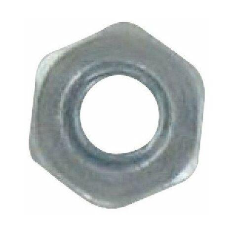"""main image of """"Ecrou 6 pans acier zingué classe 8 Omnivis"""""""