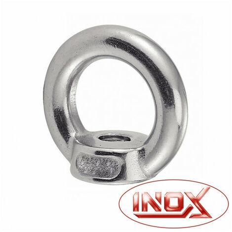 Écrou à anneau inox ACTON - plusieurs modèles disponibles