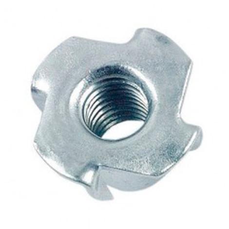 Ecrou à griffes M10 mm mm Zingué - Boite de 100 pcs - Diamwood EGR1002B