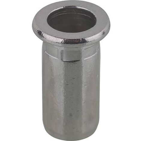 Écrou à river PolyGrip® tige de rivet d x l 7 x 13,5 mm M5 Alu 50 un.