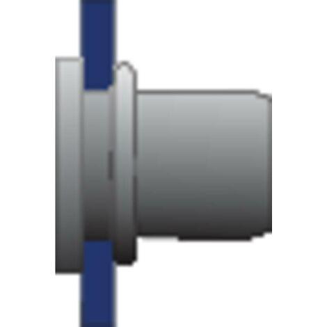 Ecrou à sertir en aveugle N/A Bralo S303108011 (Ø x L) 10.9 mm x 16.5 mm acier inoxydable 10 pc(s)