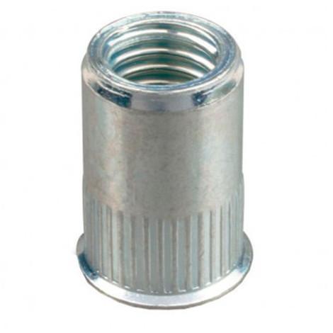 Ecrou à sertir tête réduite Acier M8 x 30 mm - Boite de 200 pcs - Diamwood EARC0803002B - -