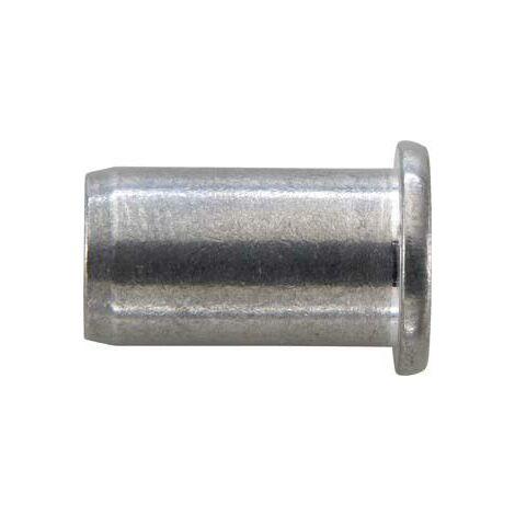 Écrou aveugle acier galvanisé tête goutte de suif M8x11x17mm GESIPA 100 PCS