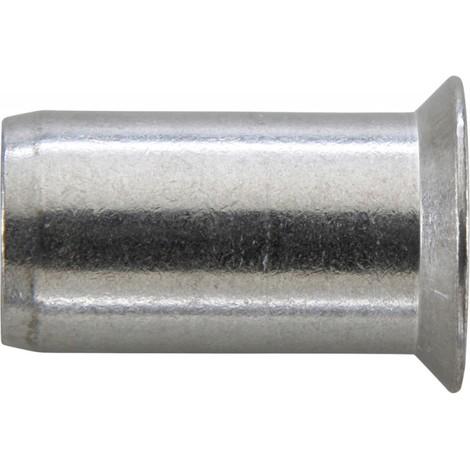 Écrou aveugle n Acier inoxydable. M6x 9x17 mm 90 Degré (Par 250)