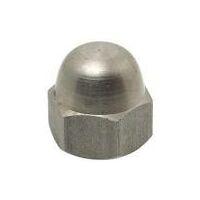 Ecrou - Borgne - DIN 1587 - Inox A2 - M 3-8 - D 5.5-13 - h 5-13