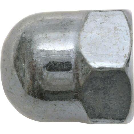 Écrou borgne hexagonal M10 SWG 356 10 25 DIN 1587 acier galvanisé 50 pc(s)