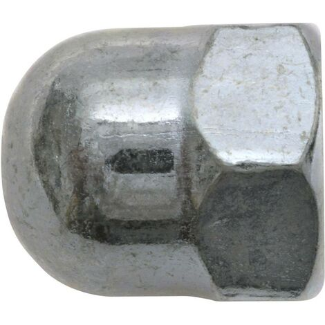 Écrou borgne hexagonal M12 SWG 356 12 25 DIN 1587 acier galvanisé 25 pc(s)
