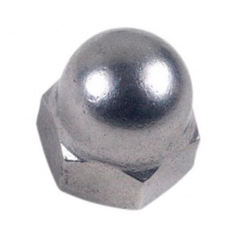 Ecrou borgne M10 mm INOX A2 - Boite de 25 pcs - Diamwood EB10A2B25