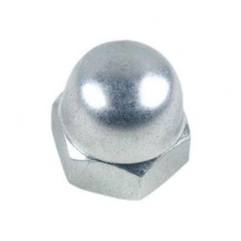 Ecrou borgne M12 mm Zingué - Boite de 100 pcs - Diamwood 10001202B