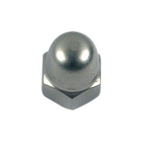 Ecrou borgne M4 mm INOX A4 - Boite de 200 pcs - EB04A4