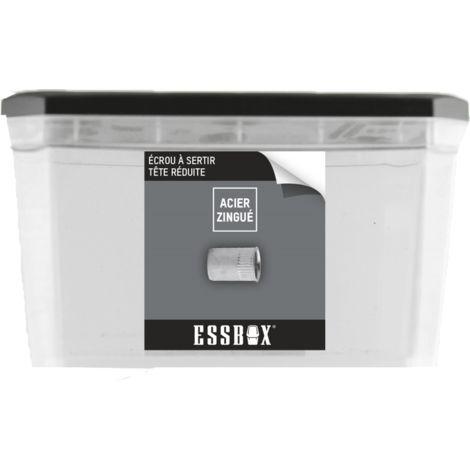 Ecrou cranté ESSBOX SCELL-IT Tête réduite - ØM8 mm x mm - Boite de 300 - EX-9460710830