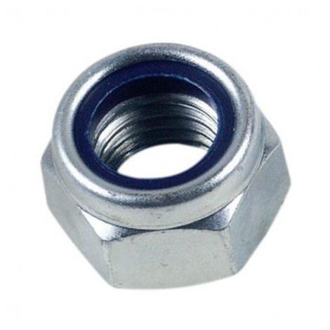 Ecrou frein indesserrable bague nylon M12 mm INOX A4 - Boite de 100 pcs - Diamwood EIND12A4