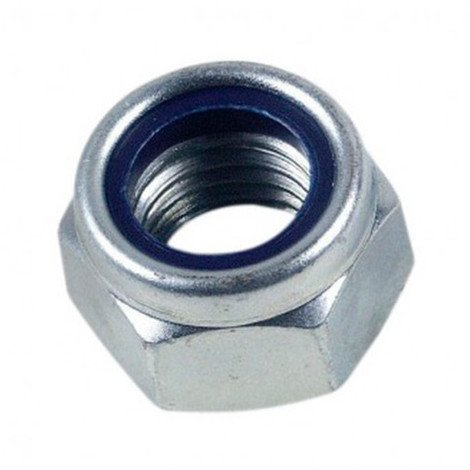 Ecrou frein indesserrable bague nylon M5 mm INOX A4 - Boite de 200 pcs - Diamwood EIND05A4