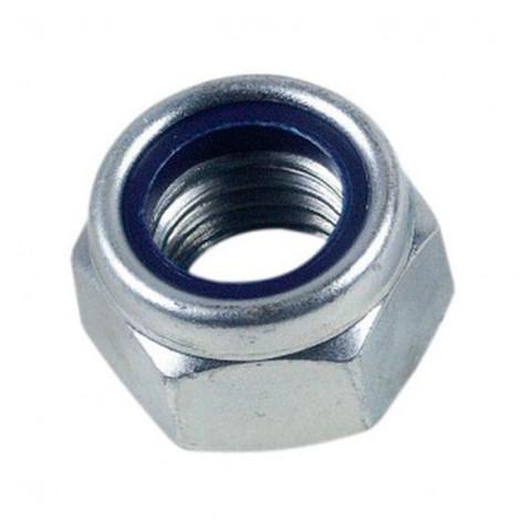 10 pcs Ecrou écrous 8 mm DIN 985 m8 Acier Inoxydable a2-qualité professionnel