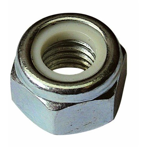 """main image of """"Écrou frein M10 X 1,50 zingué DIN 982 (Lot de 50)"""""""