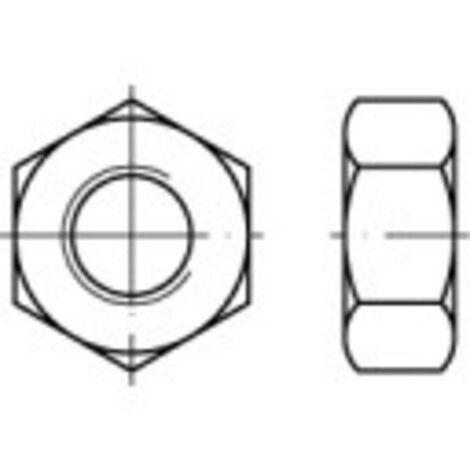 Écrou hexagonal avec filetage à gauche HU M6 N/A TOOLCRAFT 1064990 acier inoxydable A2 100 pc(s)