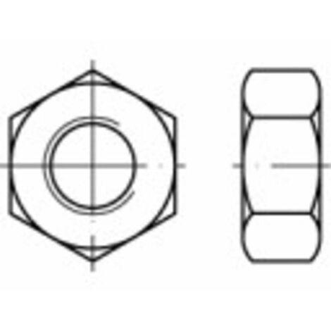 Écrou hexagonal avec filetage à gauche HU M8 N/A TOOLCRAFT 1064991 acier inoxydable A2 100 pc(s)