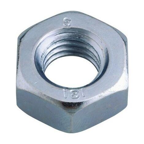 """main image of """"Écrou hexagonal, Classe 8 Viswood Vendu par 25 D (mm) 18 S (mm) 27 L (mm) 15.8"""""""