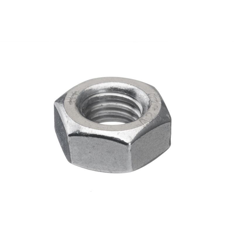 Hexagonal écrous DIN 934 m10 acier inoxydable a2 Écrous Noir 5 pcs
