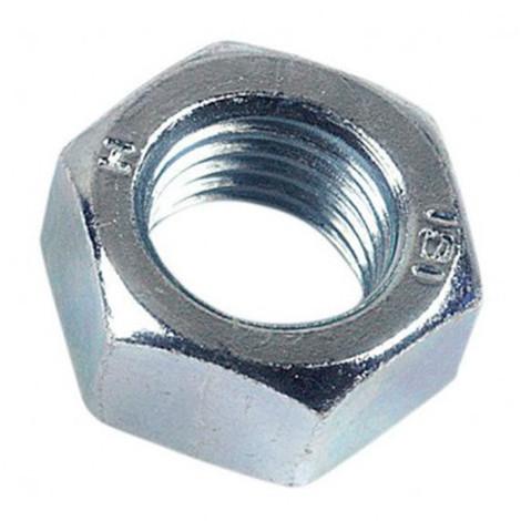 Ecrou hexagonal M22 mm HU Zingué - Boite de 25 pcs - Diamwood 01082202B