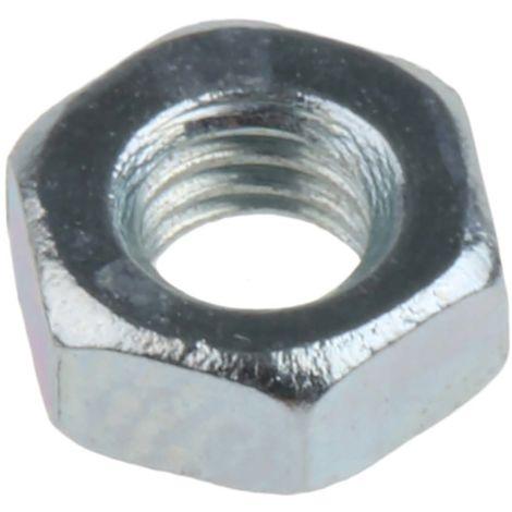 Galvanis/é Lot de 10 /écrous hexagonaux DIN 934 ISO 4032