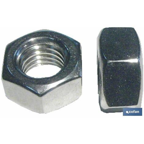 ECROU INOX A4 DIN 934 M-6