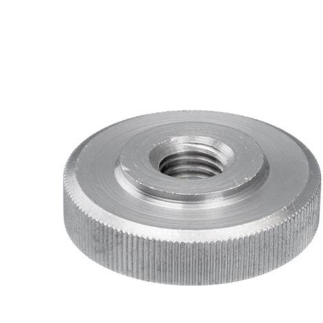 Écrou moleté type bas DIN 467 Acier inoxydable (Inox) A1
