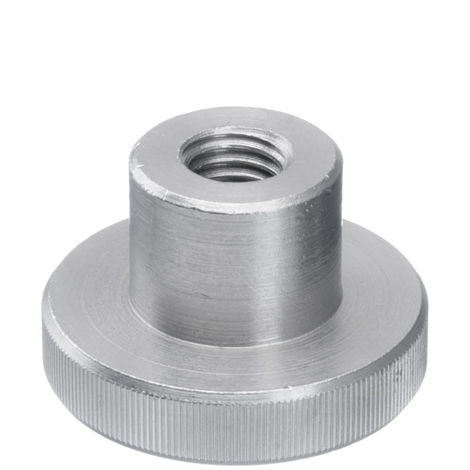 Écrou moleté type haut DIN 466 Acier inoxydable (Inox) A1