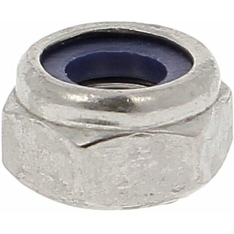 Ecrou Nylstop Inox A4 DIN 985